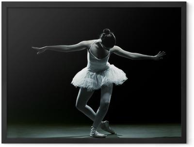 Ballet dancer-action Framed Poster
