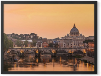 St. Peter's cathedral Framed Poster