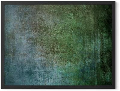grunge industrial background Framed Poster