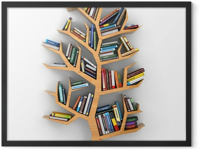 Tree of knowledge. Framed Poster