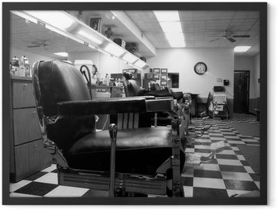 Barber shop Framed Poster