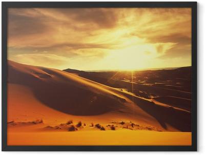 Desert Framed Poster