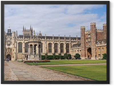 Trinity College, Cambridge University Framed Poster