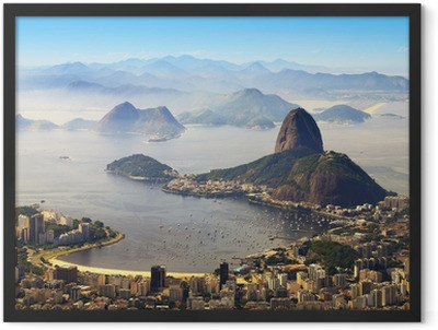 Sugarloaf, Rio de Janeiro, Brazil Framed Poster