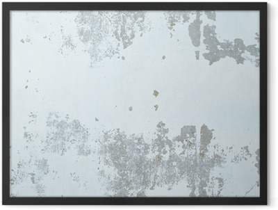 Concrete wall texture Framed Poster