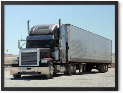 Keep on Trucking Framed Poster