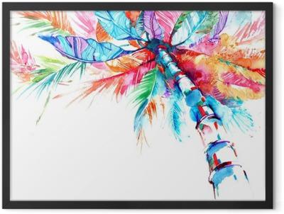 palm Framed Poster