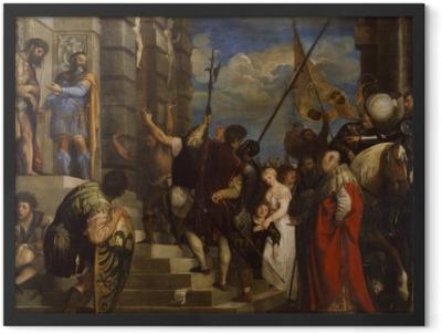 Titian - Ecce Homo Framed Poster