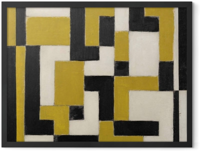 Theo van Doesburg - Composition Framed Poster