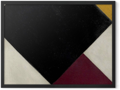 Theo van Doesburg - Counter-Composition XI Framed Poster