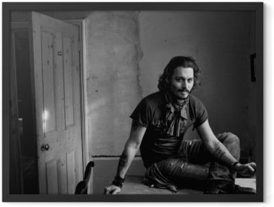 Johnny Depp Framed Poster