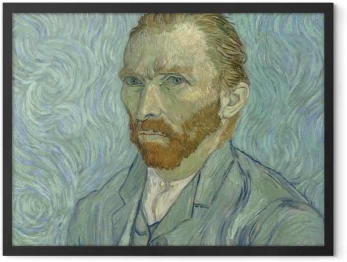 Plakat w ramie Vincent van Gogh - Autoportret - Reproductions