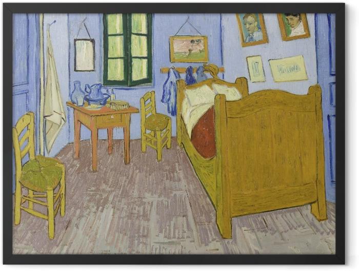 Plakat w ramie Vincent van Gogh - Sypialnia w Arles - Reproductions