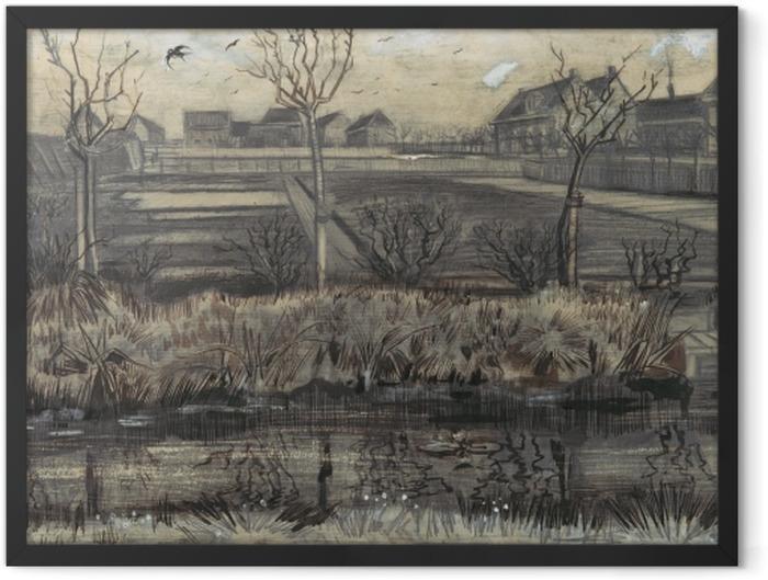 Plakat w ramie Vincent van Gogh - Szkółka w Schenkweg - Reproductions