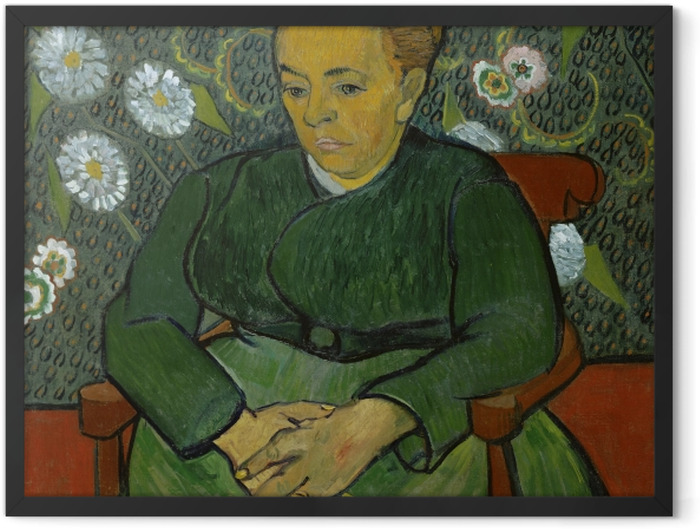 Poster en cadre Vincent van Gogh - La Berceuse - Reproductions