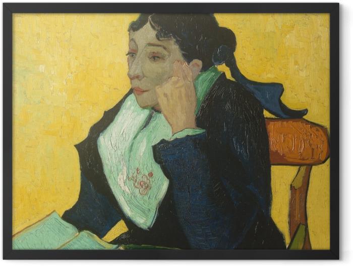 Gerahmtes Poster Vincent van Gogh - L'Arlésienne - Reproductions