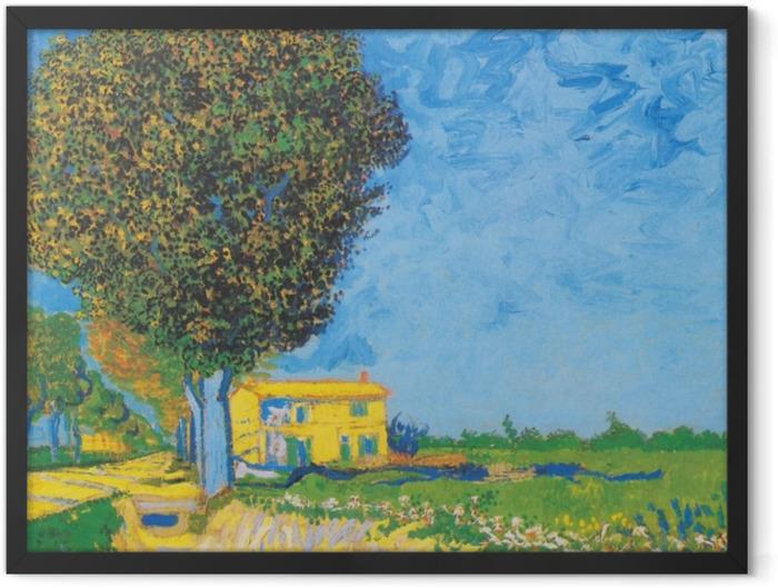 Poster en cadre Vincent van Gogh - Avenue près de Arles - Reproductions