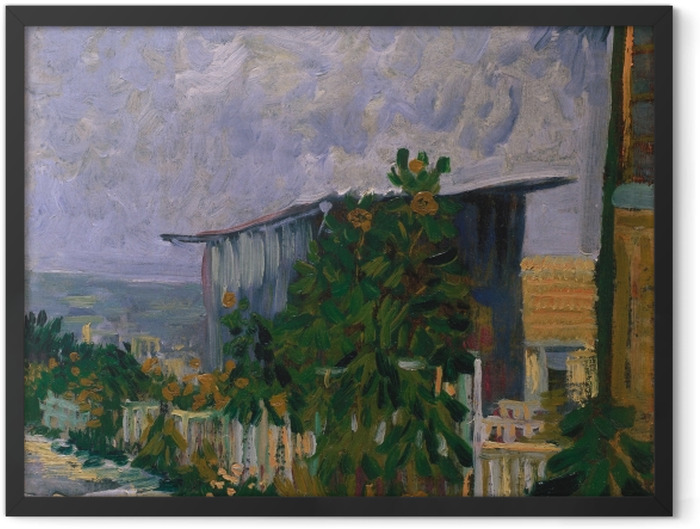 Plakat w ramie Vincent van Gogh - Schronisko na Monmartre - Reproductions