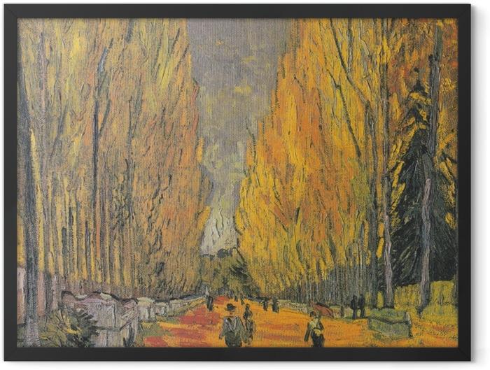 Plakat w ramie Vincent van Gogh - Les Alyscamps - Reproductions