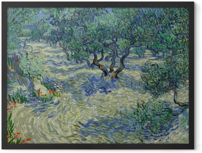 Plakat w ramie Vincent van Gogh - Gaj oliwny - Reproductions