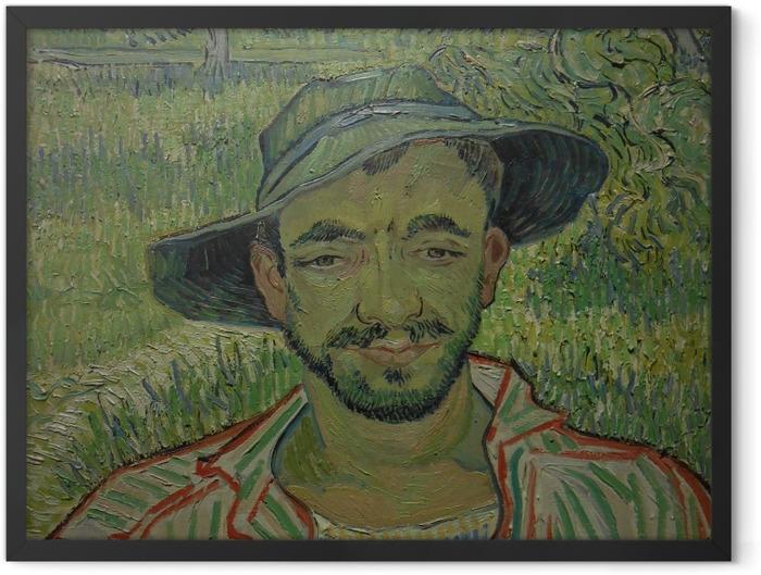 Plakat w ramie Vincent van Gogh - Ogrodnik - Reproductions