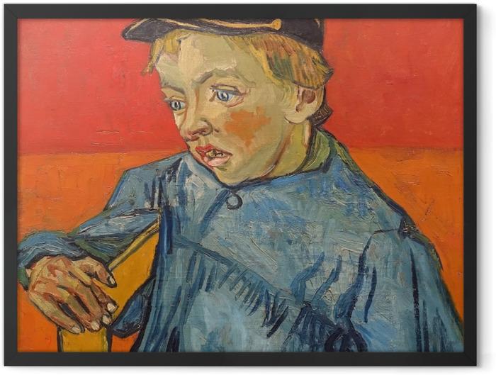 Plakat w ramie Vincent van Gogh - Uczeń - Reproductions