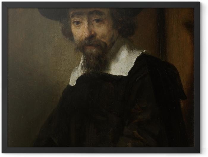 Poster en cadre Rembrandt - Portrait du Dr Ephraim Bueno - Reproductions