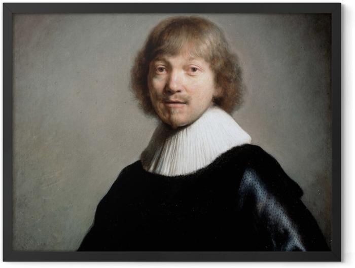 Plakat w ramie Rembrandt - Portret Jacquesa III de Gheyn - Reprodukcje