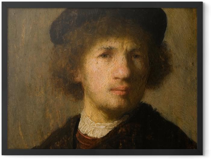 Poster en cadre Rembrandt - Autoportrait - Reproductions