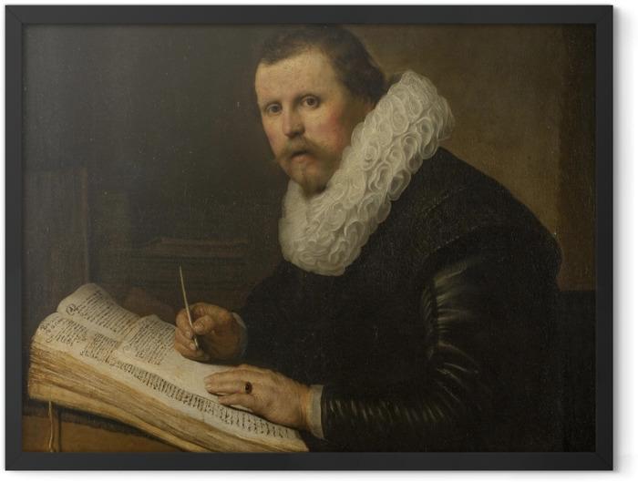 Plakat w ramie Rembrandt - Portret uczonego - Reprodukcje
