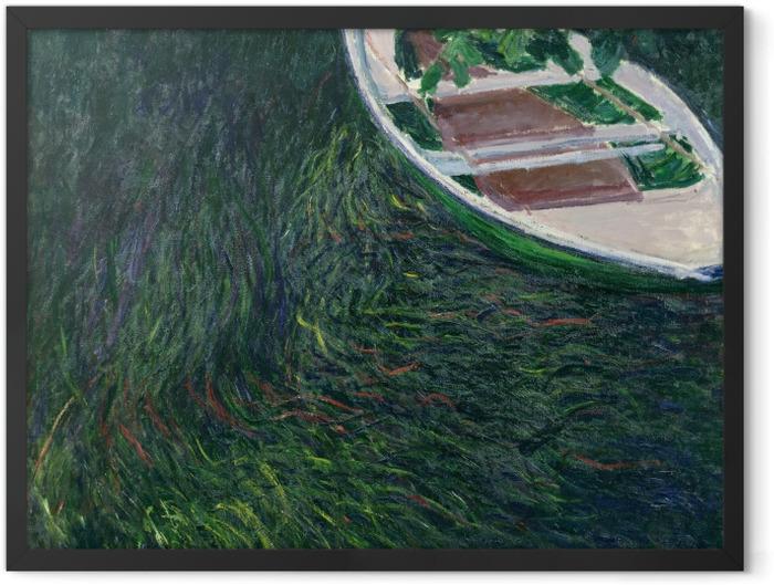Poster en cadre Claude Monet - La Barque - Reproductions