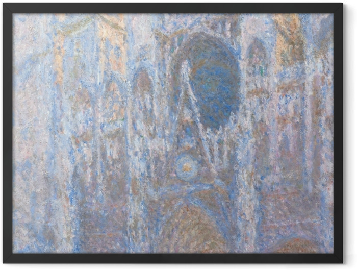 Poster en cadre Claude Monet - La Cathédrale de Rouen - Reproductions