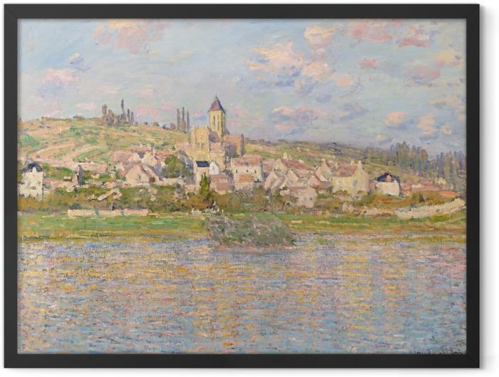 Poster en cadre Claude Monet - Vétheuil - Reproductions