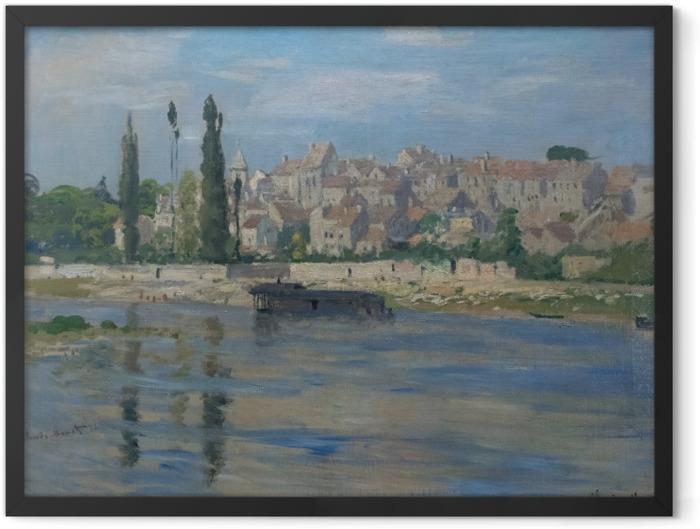 Poster en cadre Claude Monet - Carrières-Saint-Denis - Reproductions
