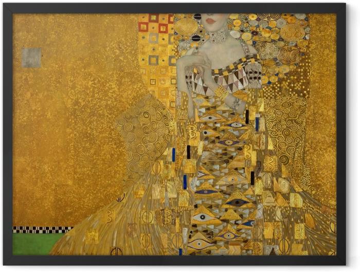 Plakat w ramie Gustav Klimt - Portret Adele Bloch-Bauer - Reprodukcje