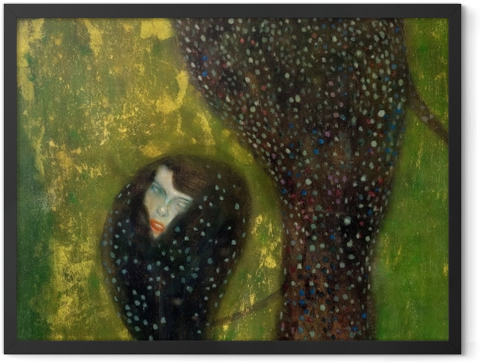 Plakat w ramie Gustav Klimt - Syreny - Reprodukcje