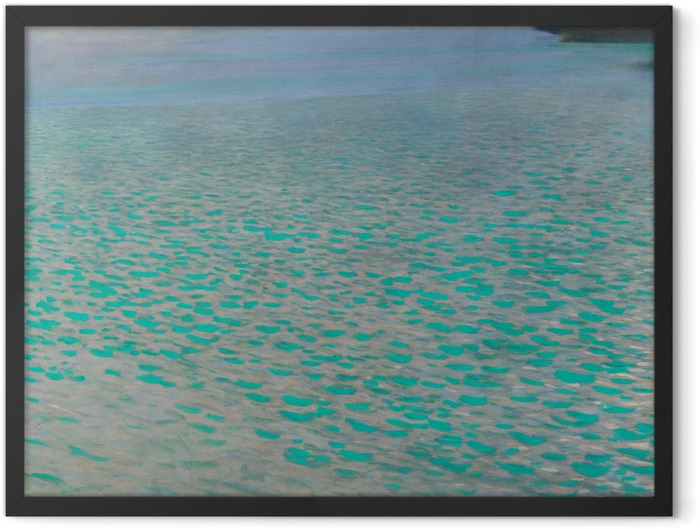 Plakat w ramie Gustav Klimt - Jezioro Attersee - Reprodukcje