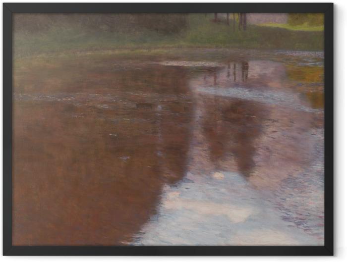 Poster en cadre Gustav Klimt - L'Etang tranquille - Reproductions