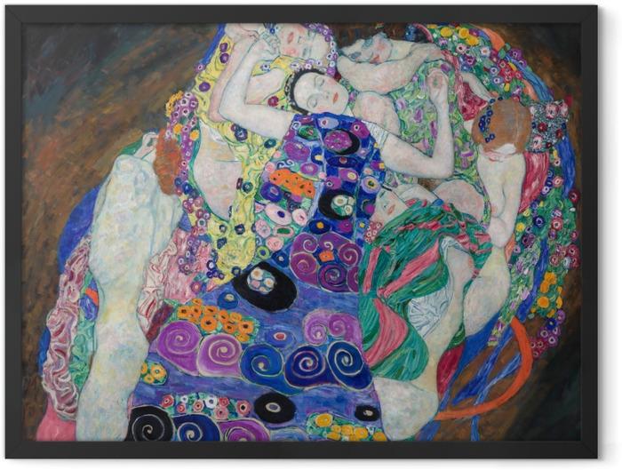Poster en cadre Gustav Klimt - La jeune fille - Reproductions