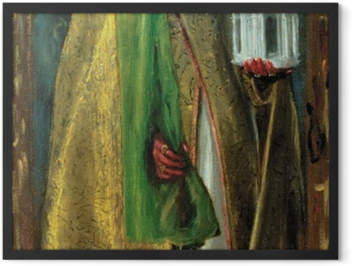 Gerahmtes Poster El Greco - Der heilige Augustinus - Reproduktion