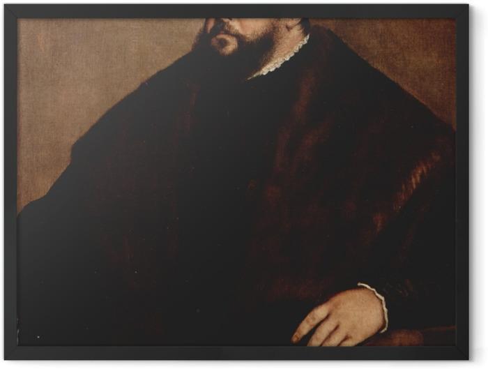 Poster en cadre Titien - Friedrich von Sachsen - Reproductions