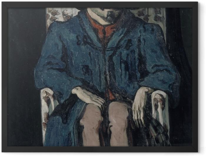 Poster en cadre Paul Cézanne - Achille Emperaire - Reproductions