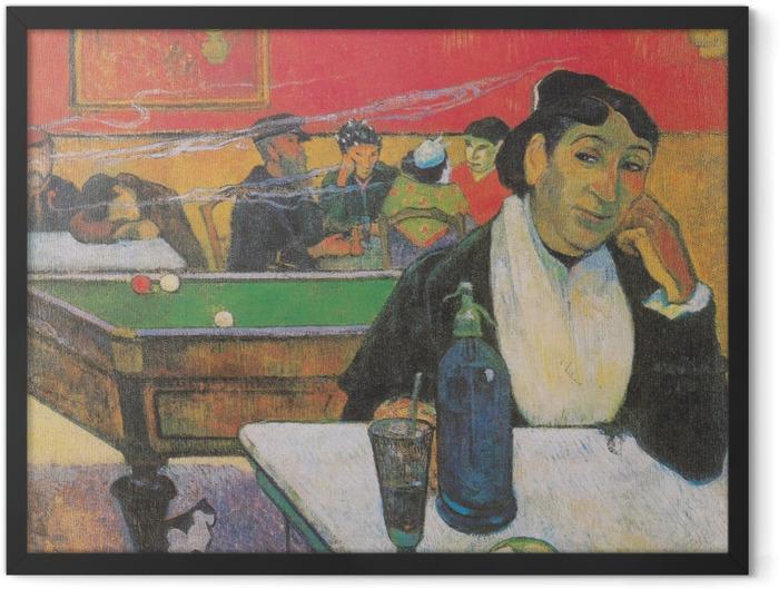 Poster en cadre Paul Gauguin - Mme. Ginoux - Reproductions