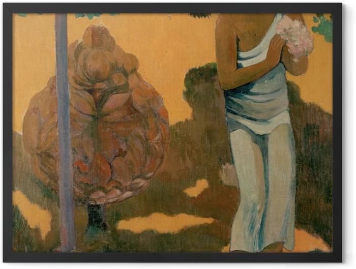 Plakat w ramie Paul Gauguin - Te avae no Maria (Miesiąc Marii) - Reprodukcje