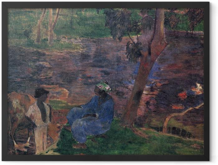 Gerahmtes Poster Paul Gauguin - Martinique - Reproduktion