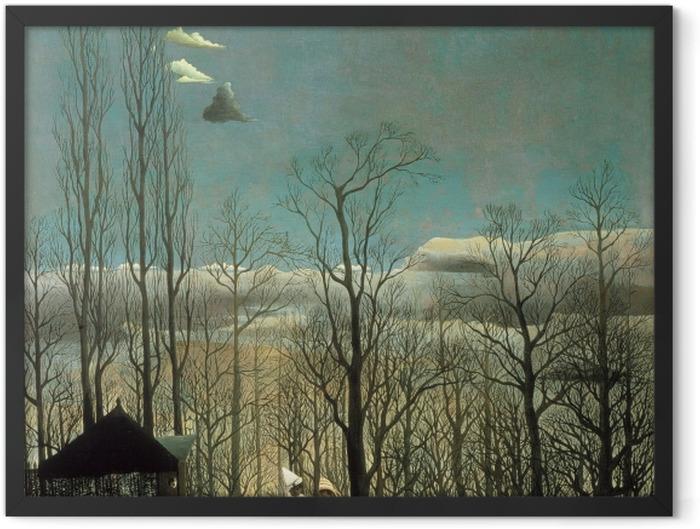 Plakat w ramie Henri Rousseau - Wieczór karnawałowy - Reprodukcje
