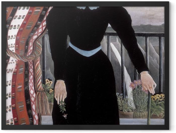 Poster en cadre Henri Rousseau - Portrait de femme - Reproductions