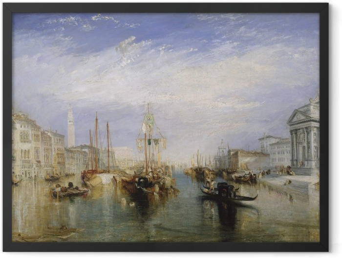 Plakat w ramie William Turner - Canal Grande - Reprodukcje