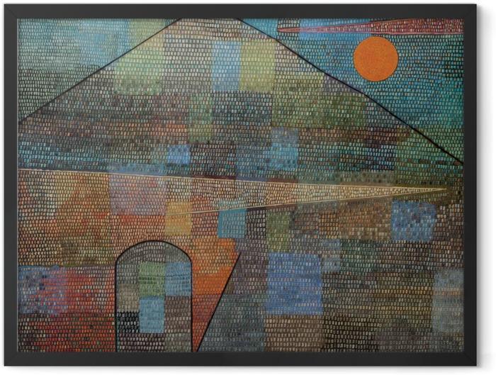 Poster en cadre Paul Klee - Ad Parnassum - Reproductions