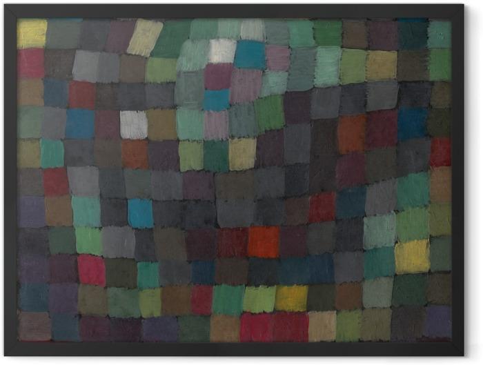Poster en cadre Paul Klee - Polyphonie - Reproductions